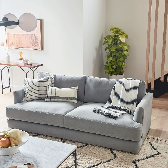 10 Deep Cozy Couches Comfiest Deep Sofas For Lounging Apartment Therapy