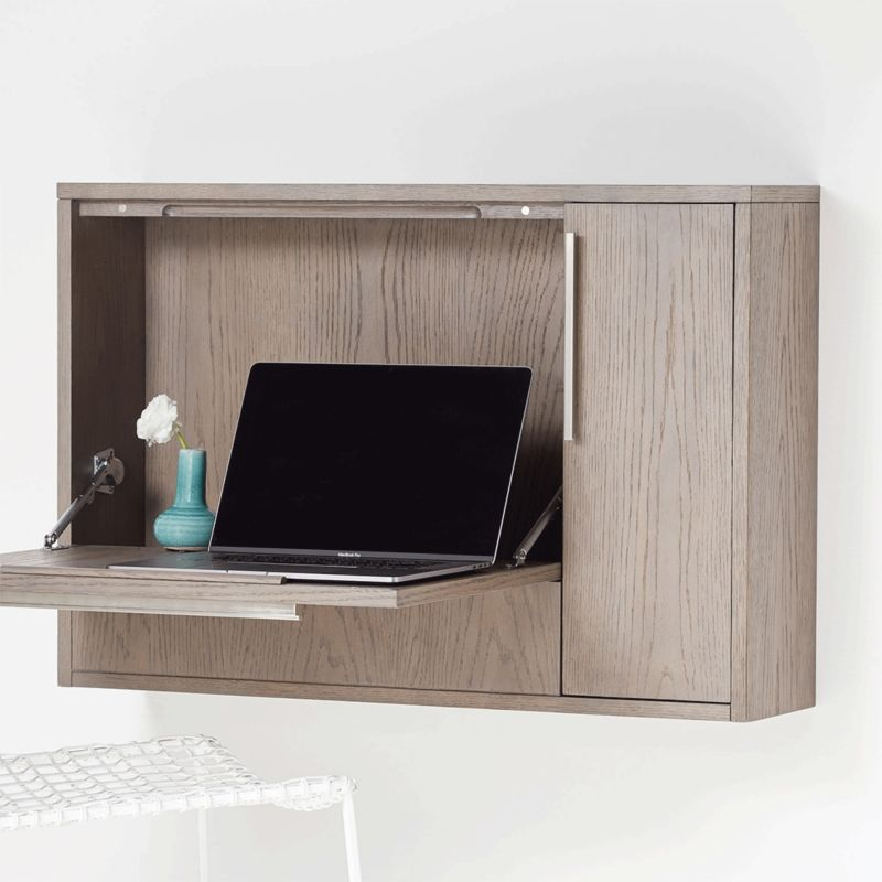 12 Best Wall Mounted Desks Floating Desks To Save Space Apartment Therapy