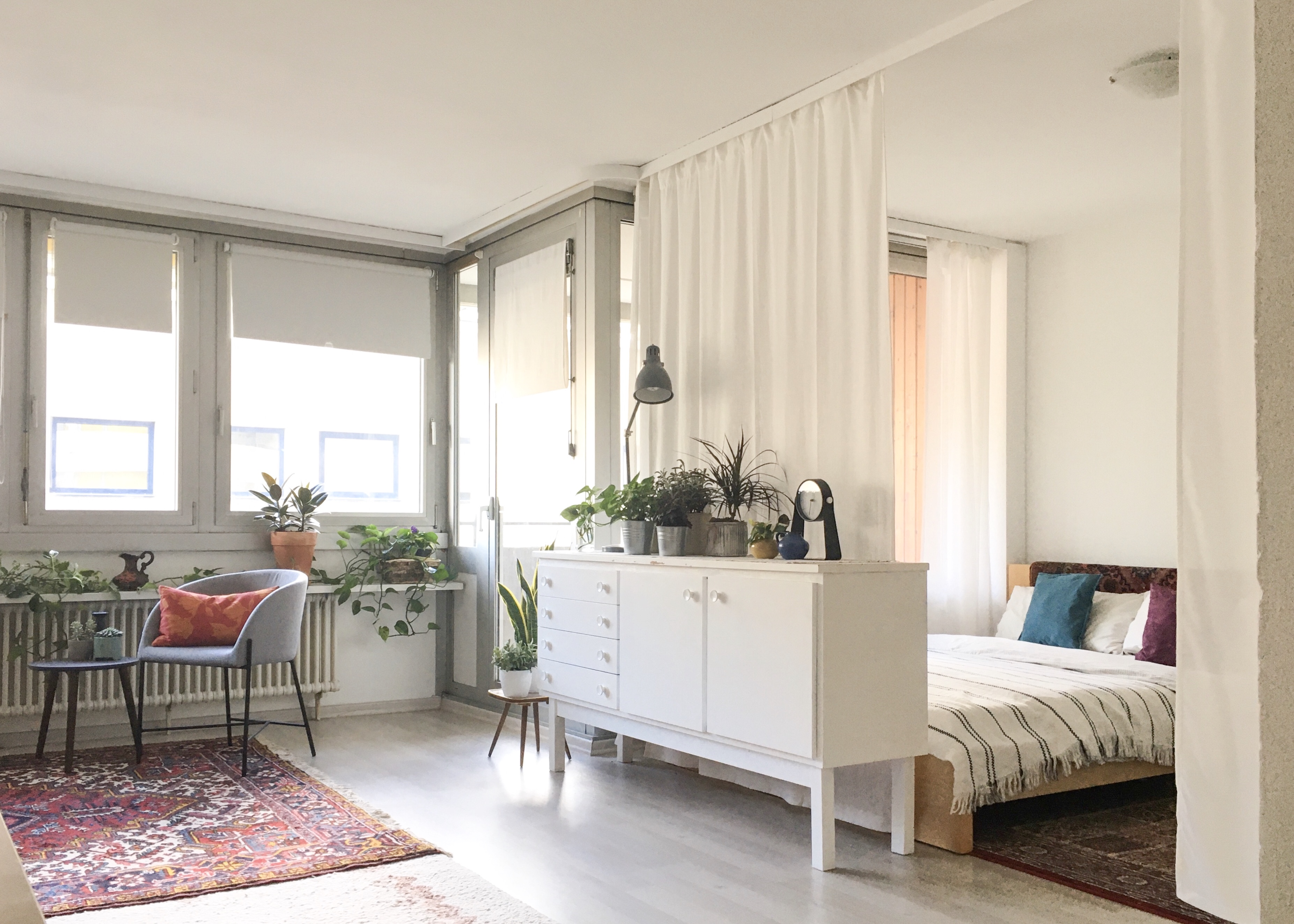 3 Ways to Divide a Room - Creative Small Room-Dividing Ideas