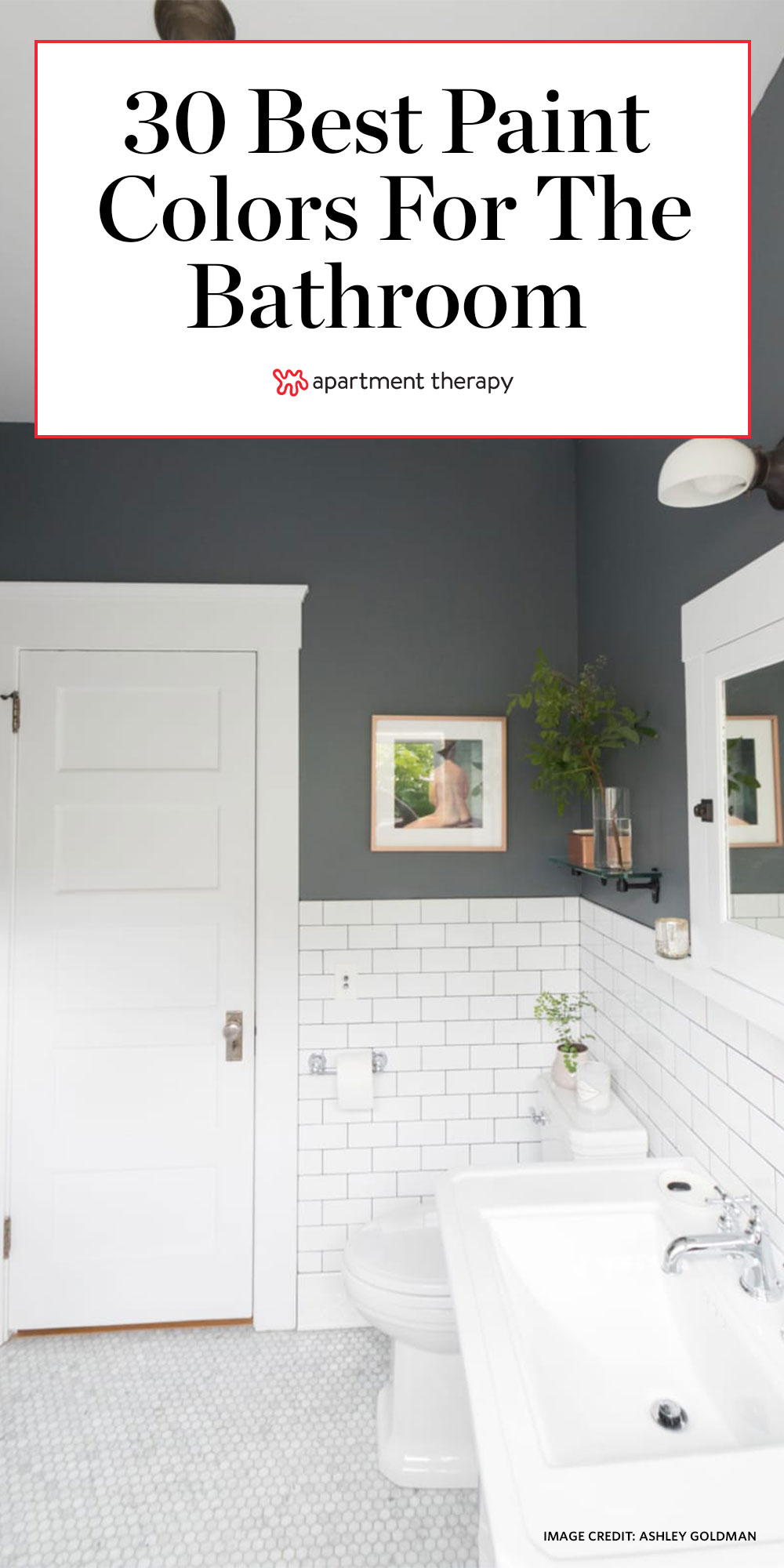 Image of: The 30 Best Bathroom Colors Bathroom Paint Color Ideas Apartment Therapy