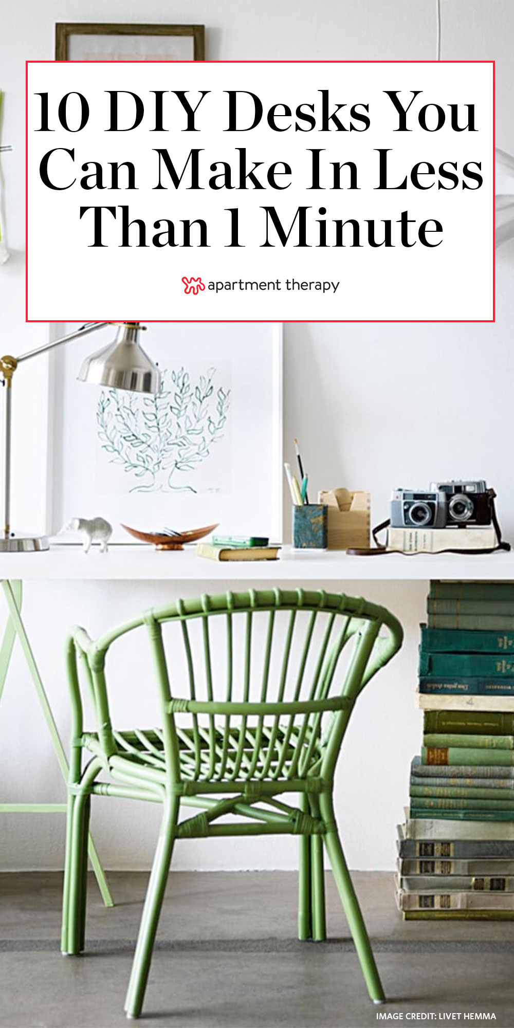 Image of: 15 Diy Desk Ideas Easy Cheap Ways To Make A Desk Apartment Therapy