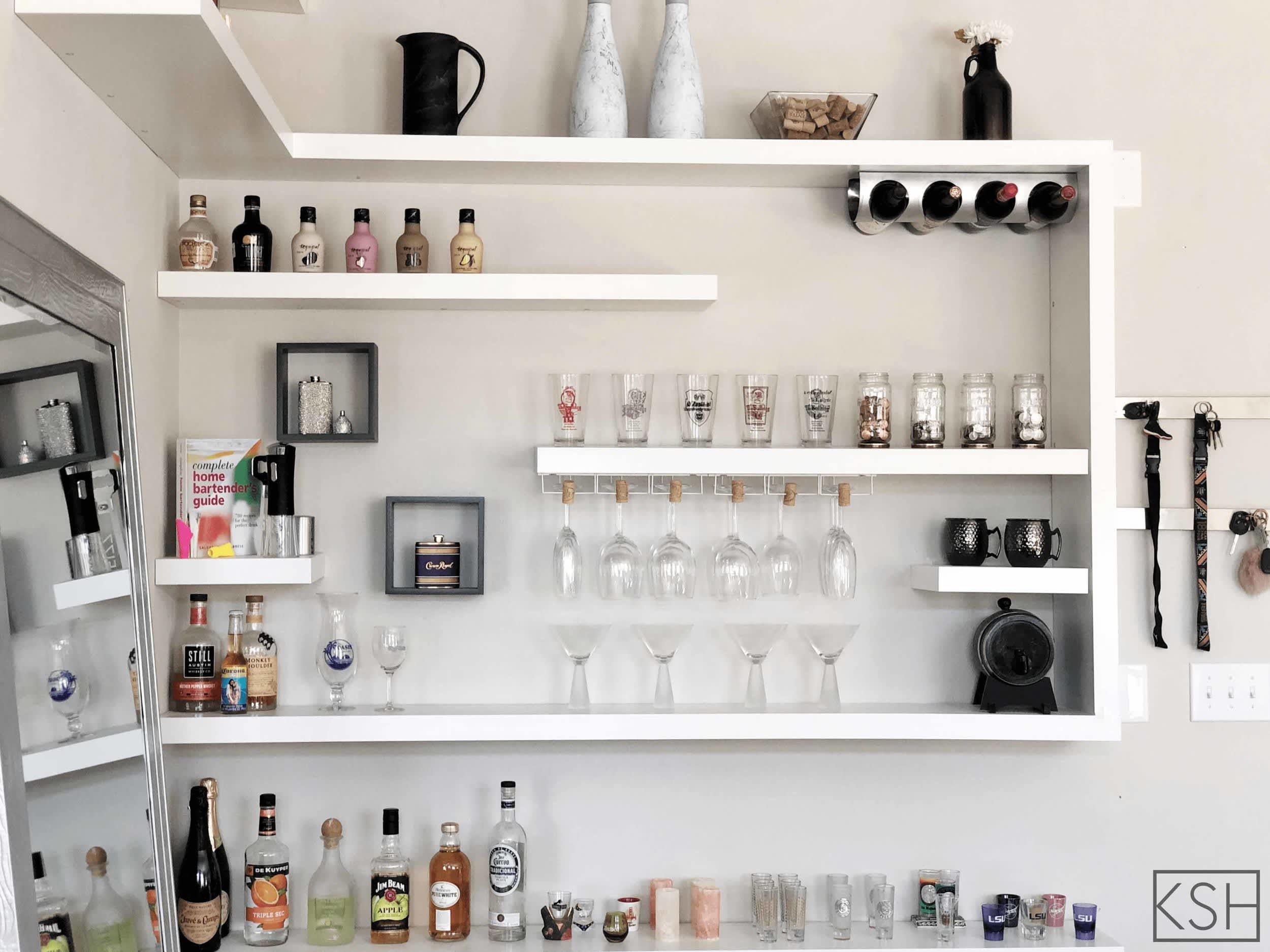 6 Easy Ikea Lack Shelf Hacks Apartment Therapy