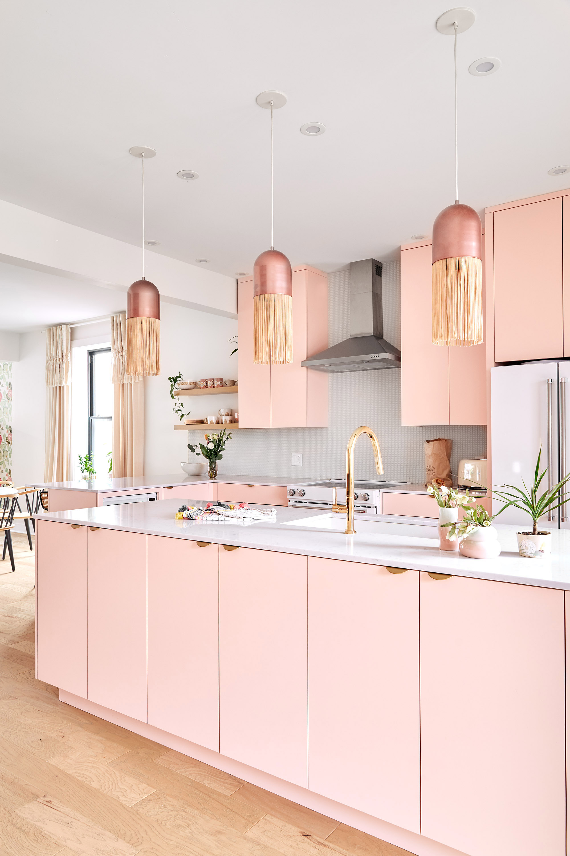 20 Pink Kitchens To Inspire You Apartment Therapy