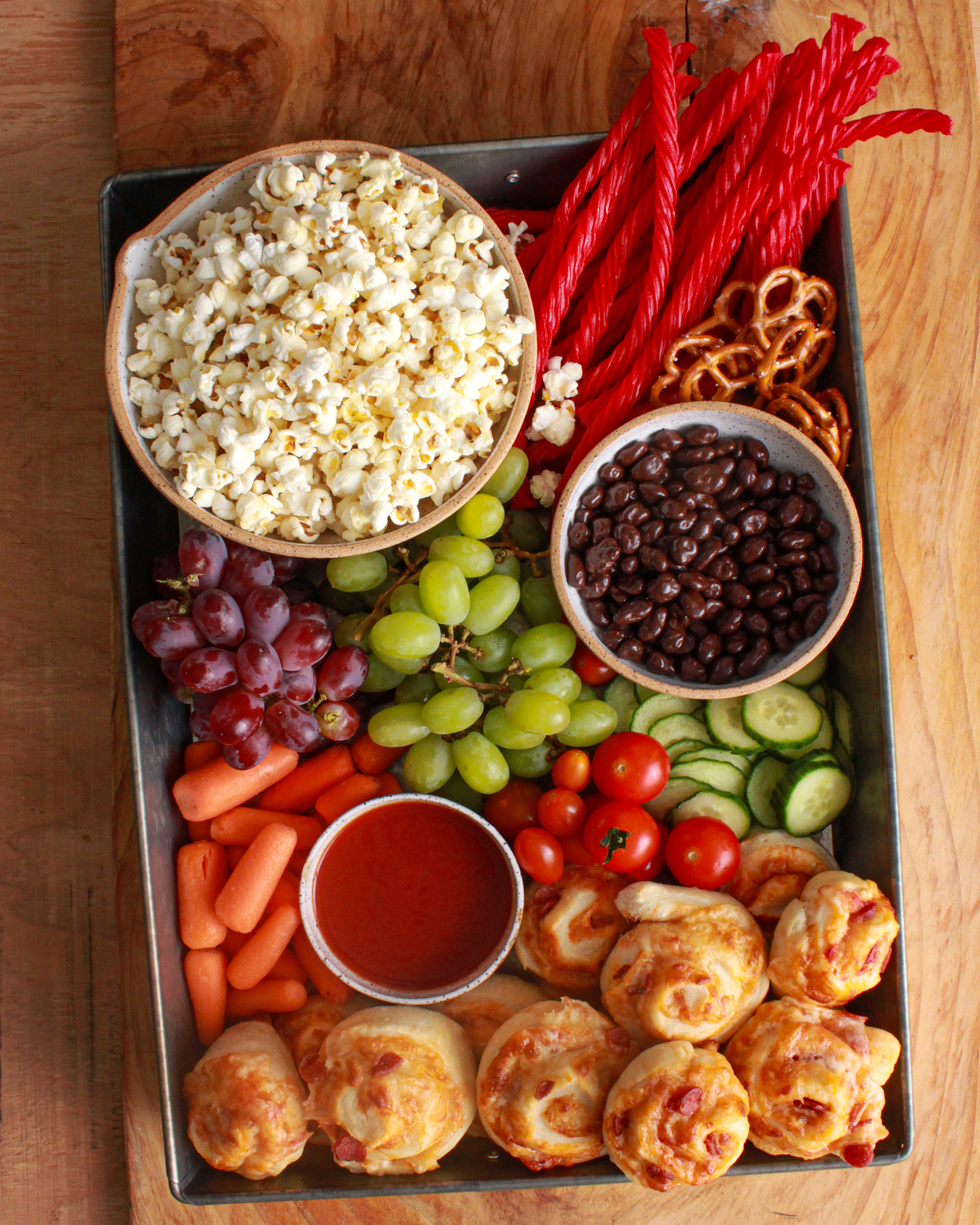 Here S How To Make A Family Movie Night Snack Board Kitchn