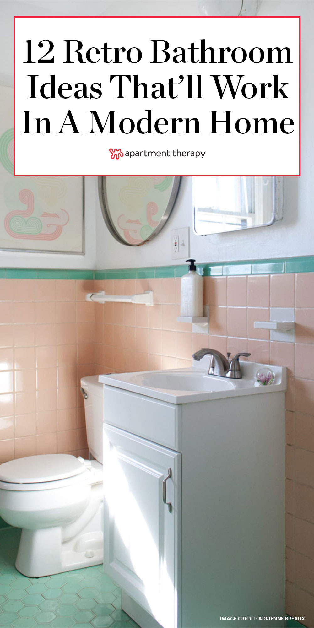 12 Retro Bathroom Ideas Cool Old Style Photos Apartment Therapy