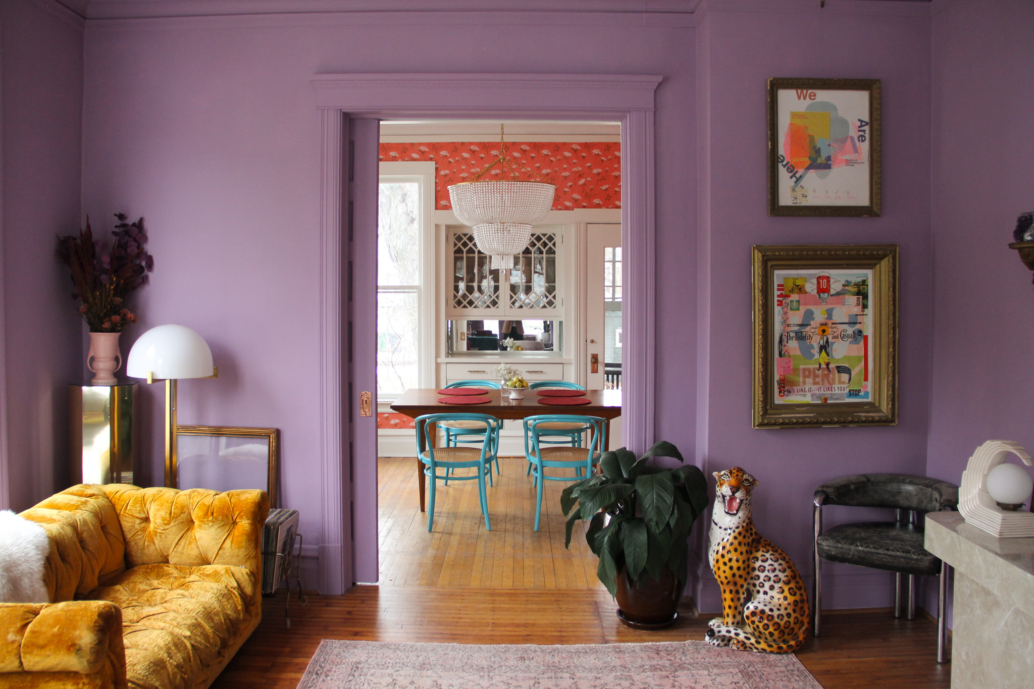 Colors That Go With Purple Apartment Therapy