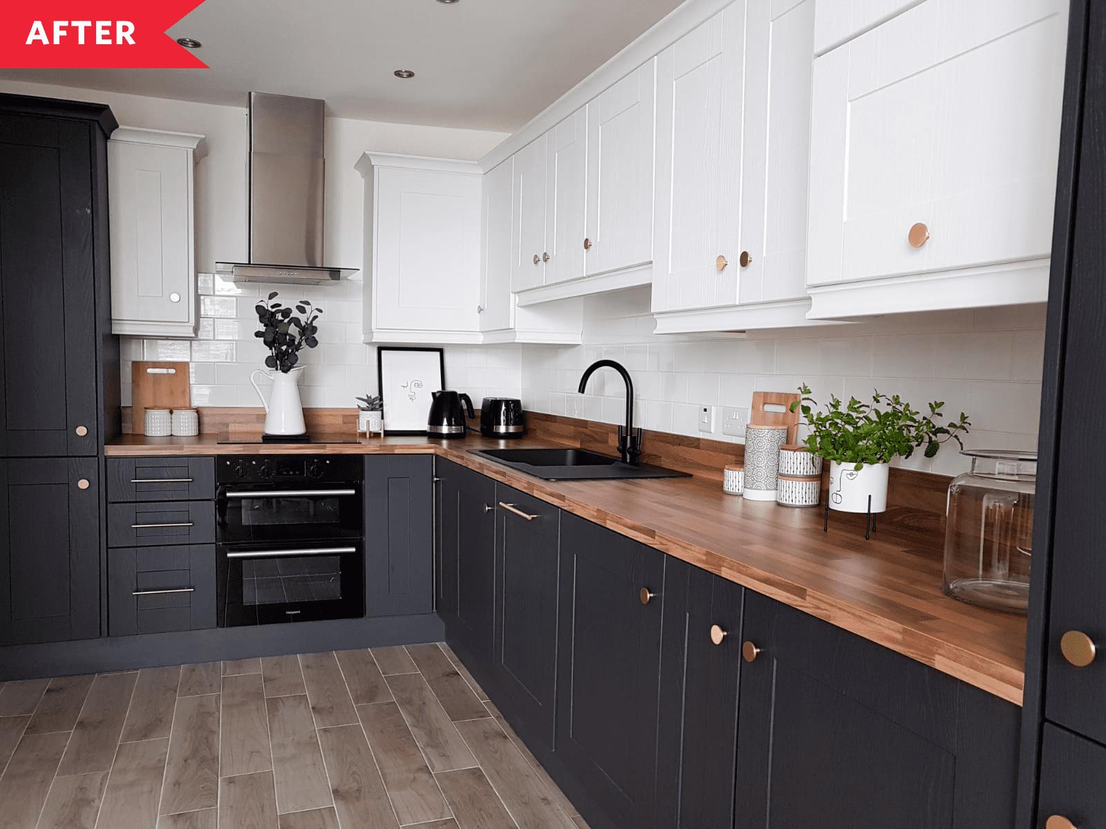 15 Stylish Black White Kitchens How To Use Black White In Kitchen Decor Apartment Therapy