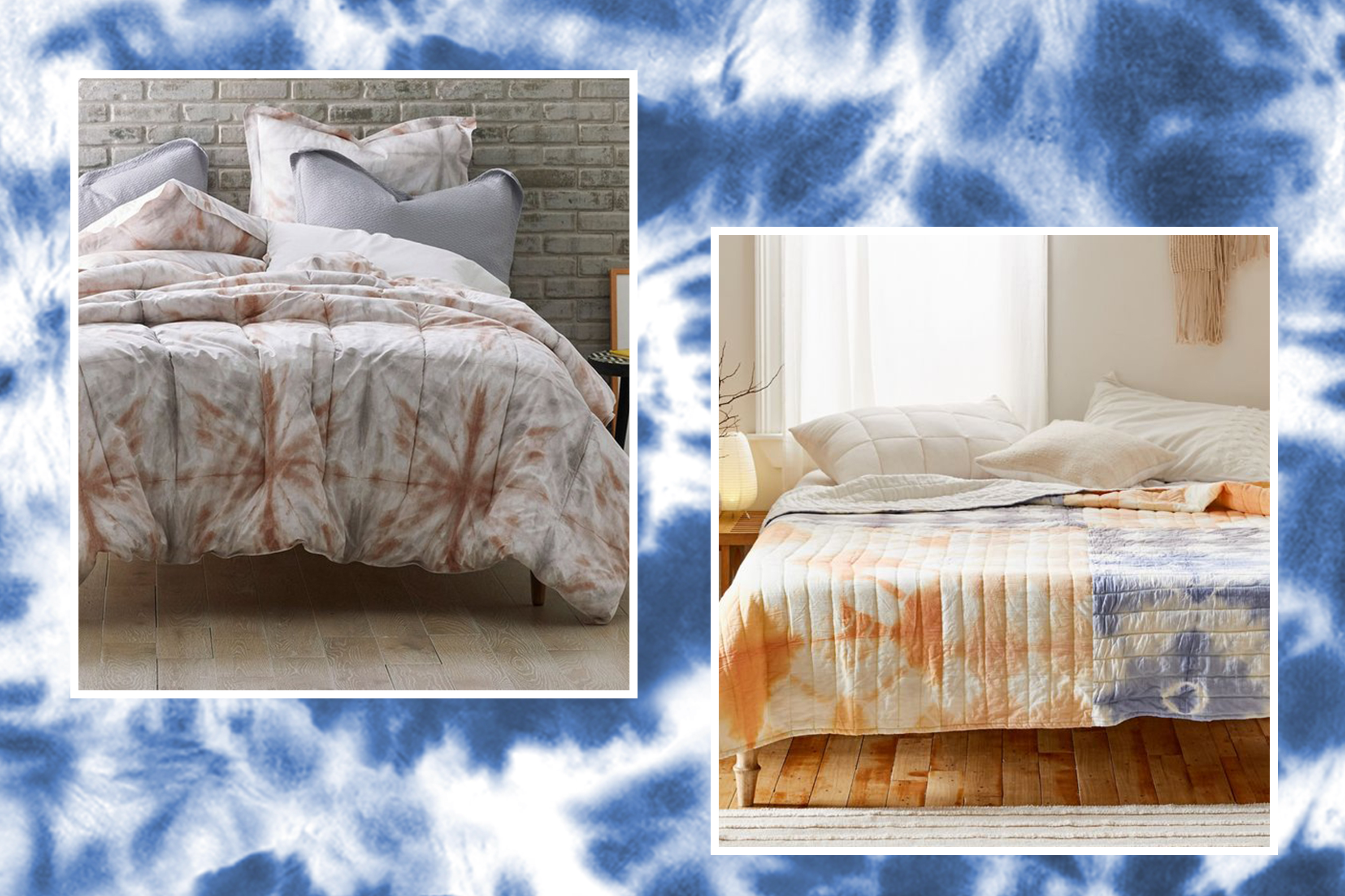 The Best Tie Dye Home Decor Items Apartment Therapy