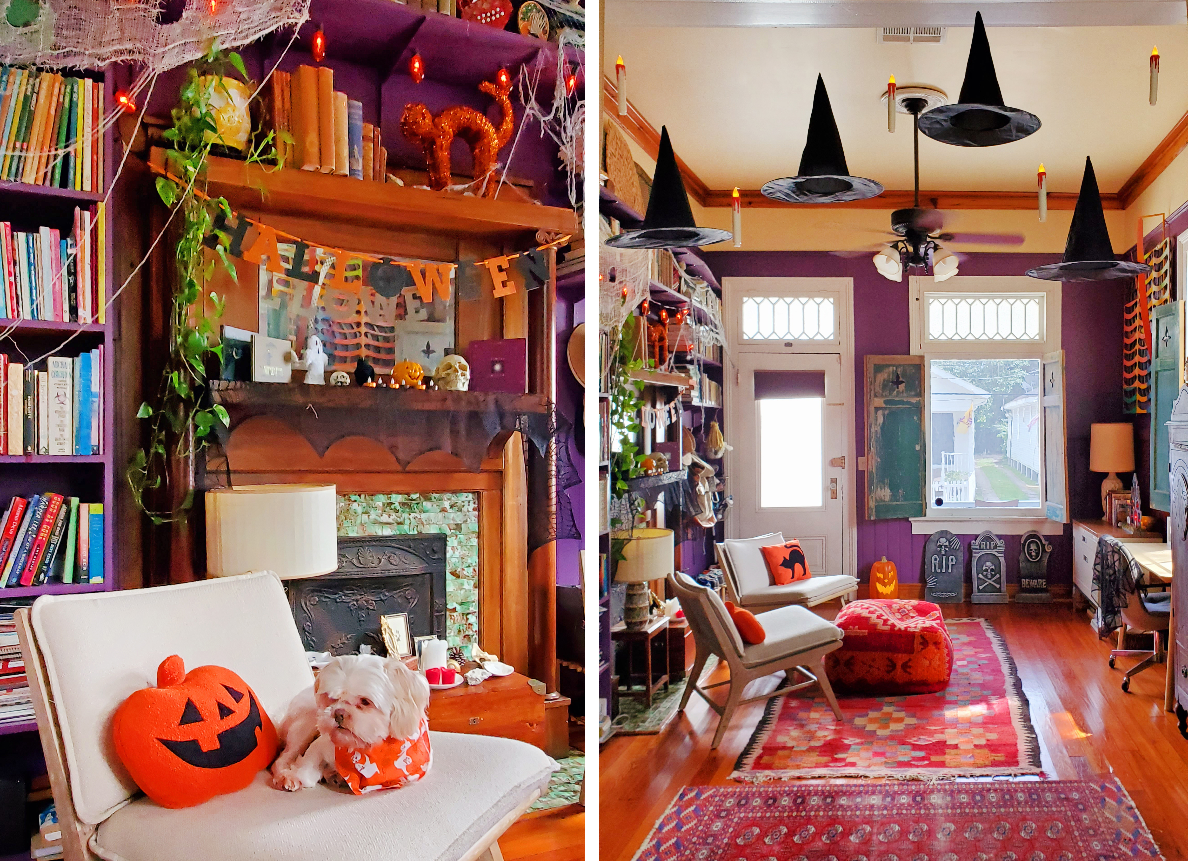 Halloween Home Decorating Ideas and Inspiration