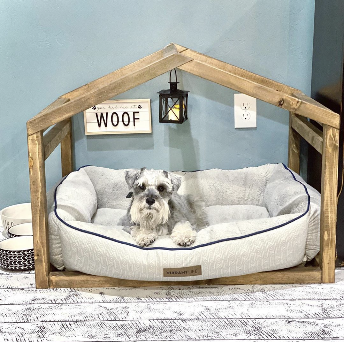 10 Diy Dog Bed Ideas Easy Ways To Make A Dog Bed Apartment Therapy
