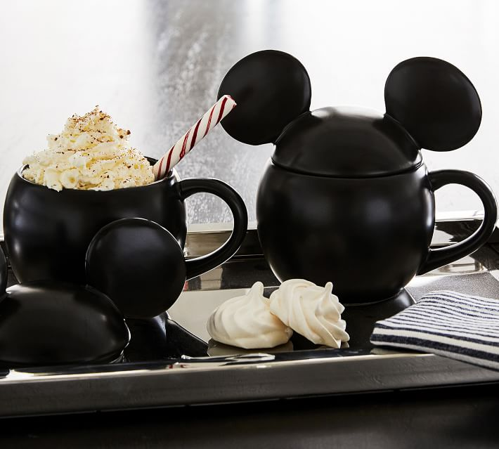 Pottery Barn S New Disney Collection Includes A Mickey Shaped Bar Cart Apartment Therapy