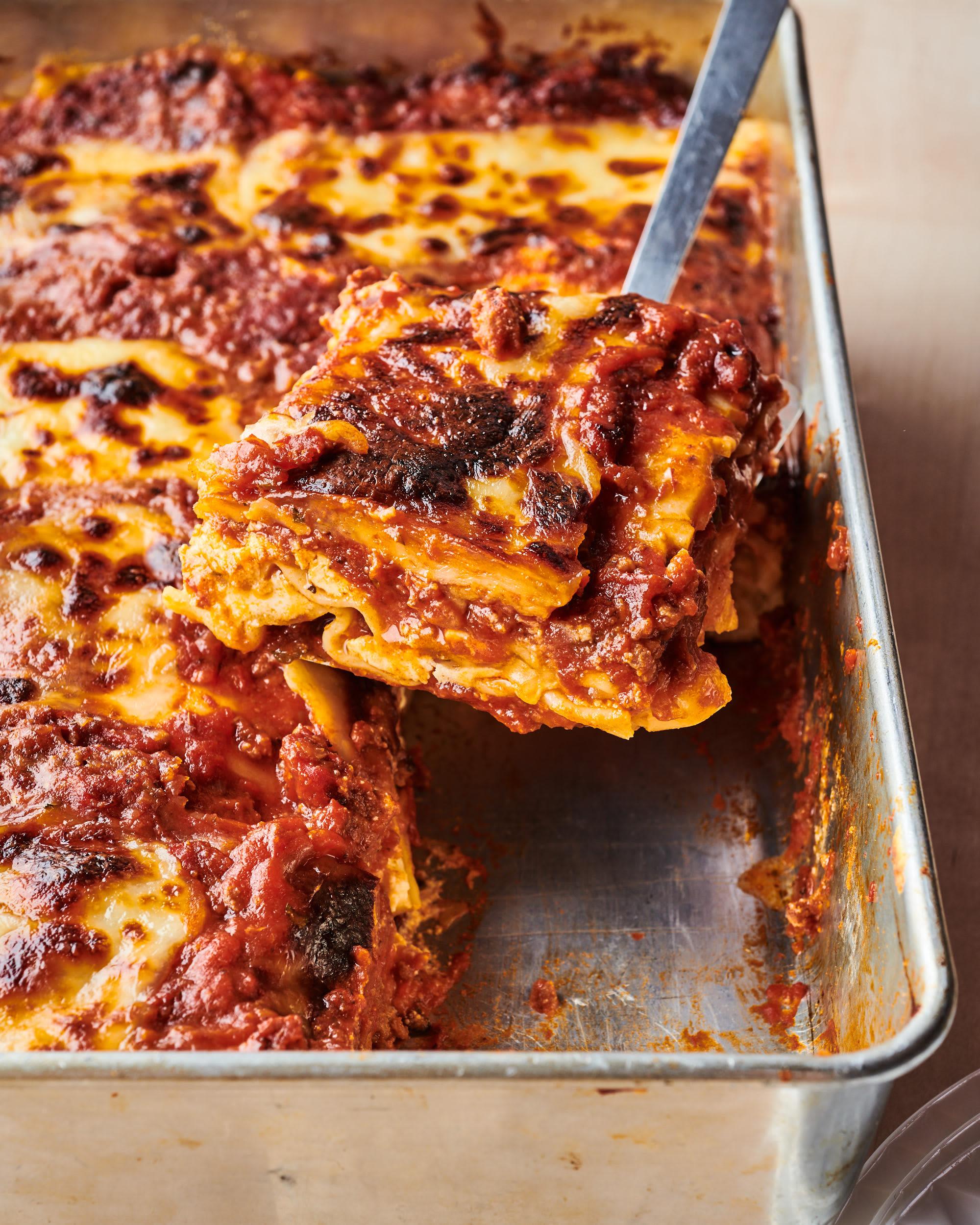 I Tried Allrecipes' World's Best Lasagna   Kitchn