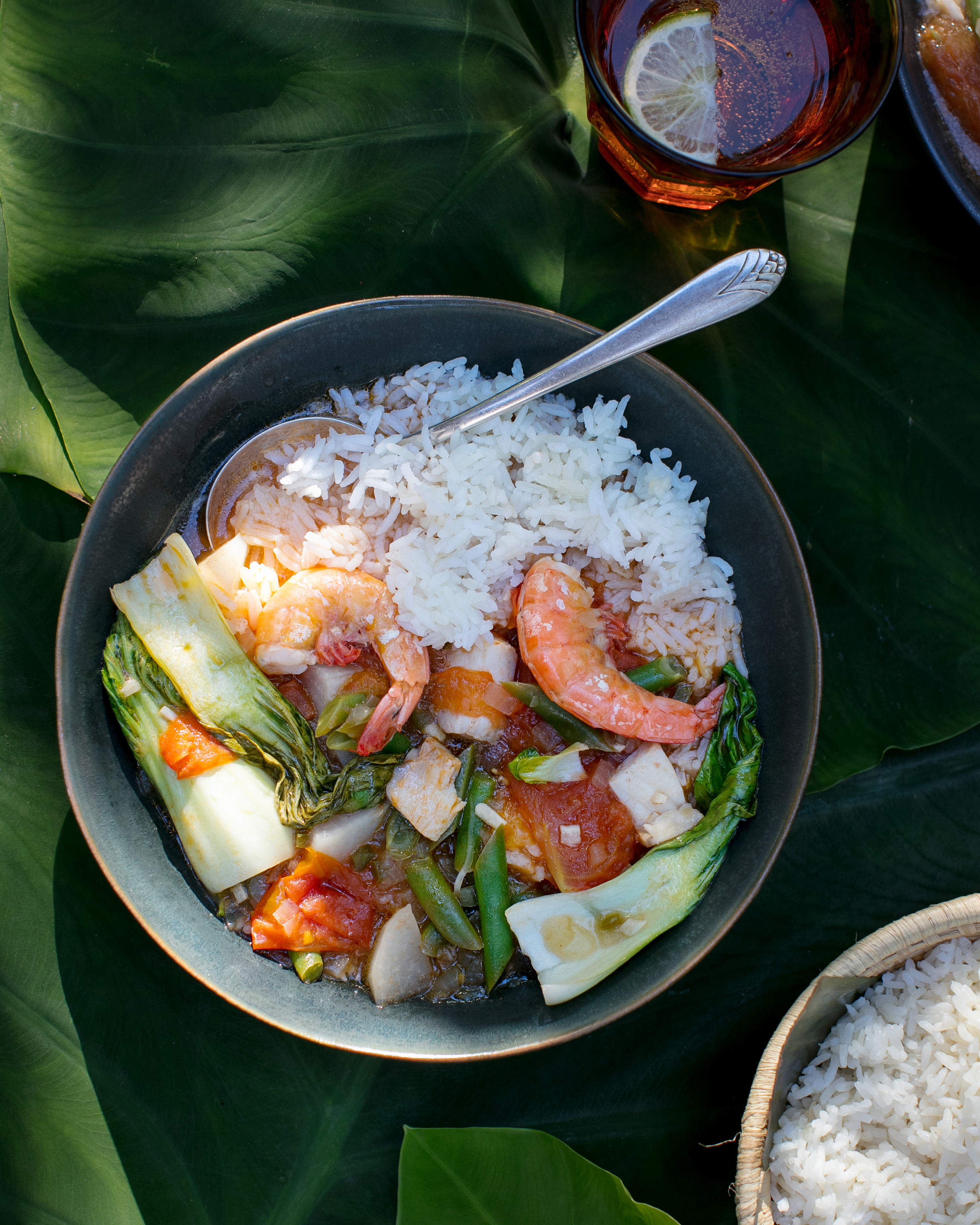 Shrimp And Fish Sinigang Tamarind Stew Kitchn