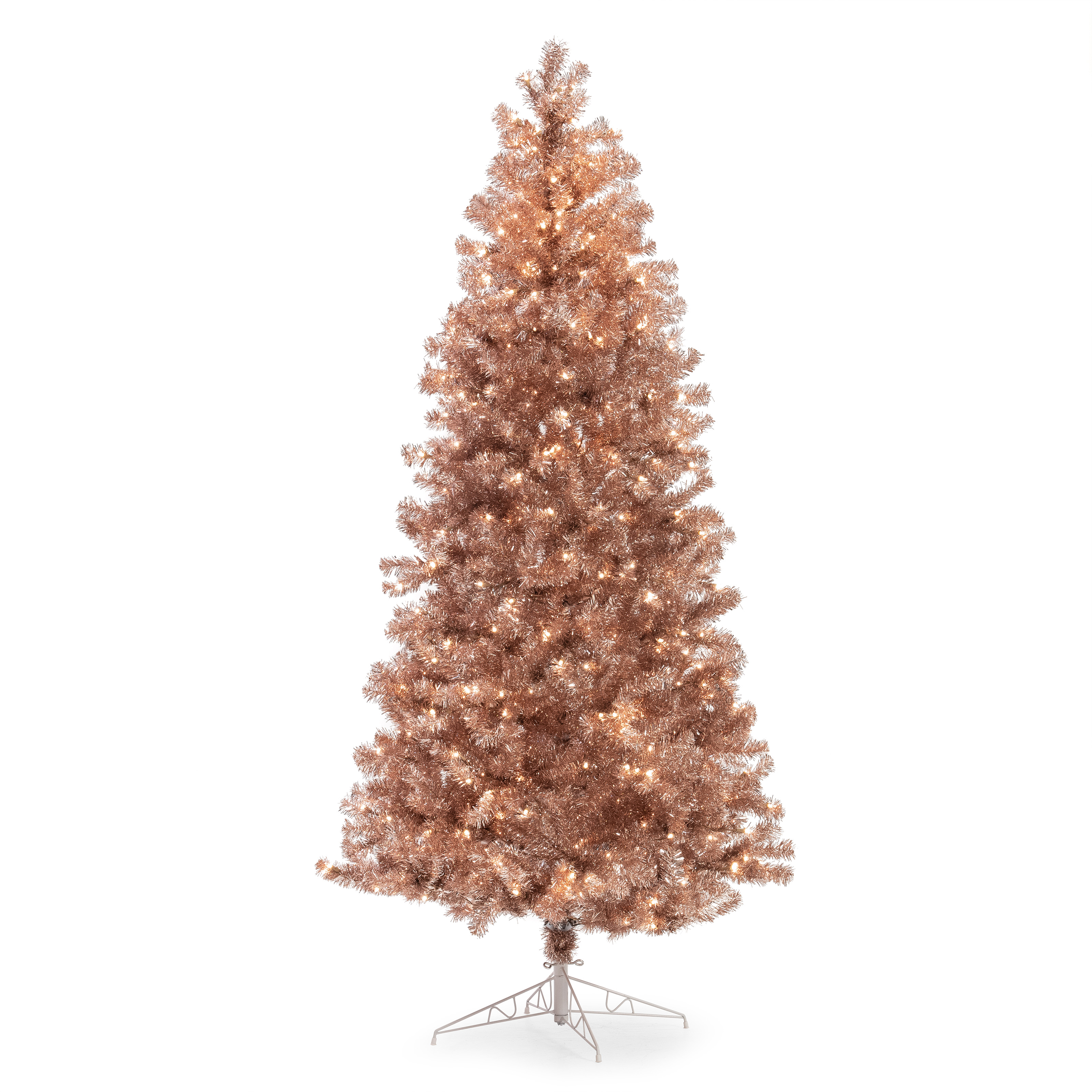 7 Rose Gold Christmas Trees And Where To Buy Apartment Therapy