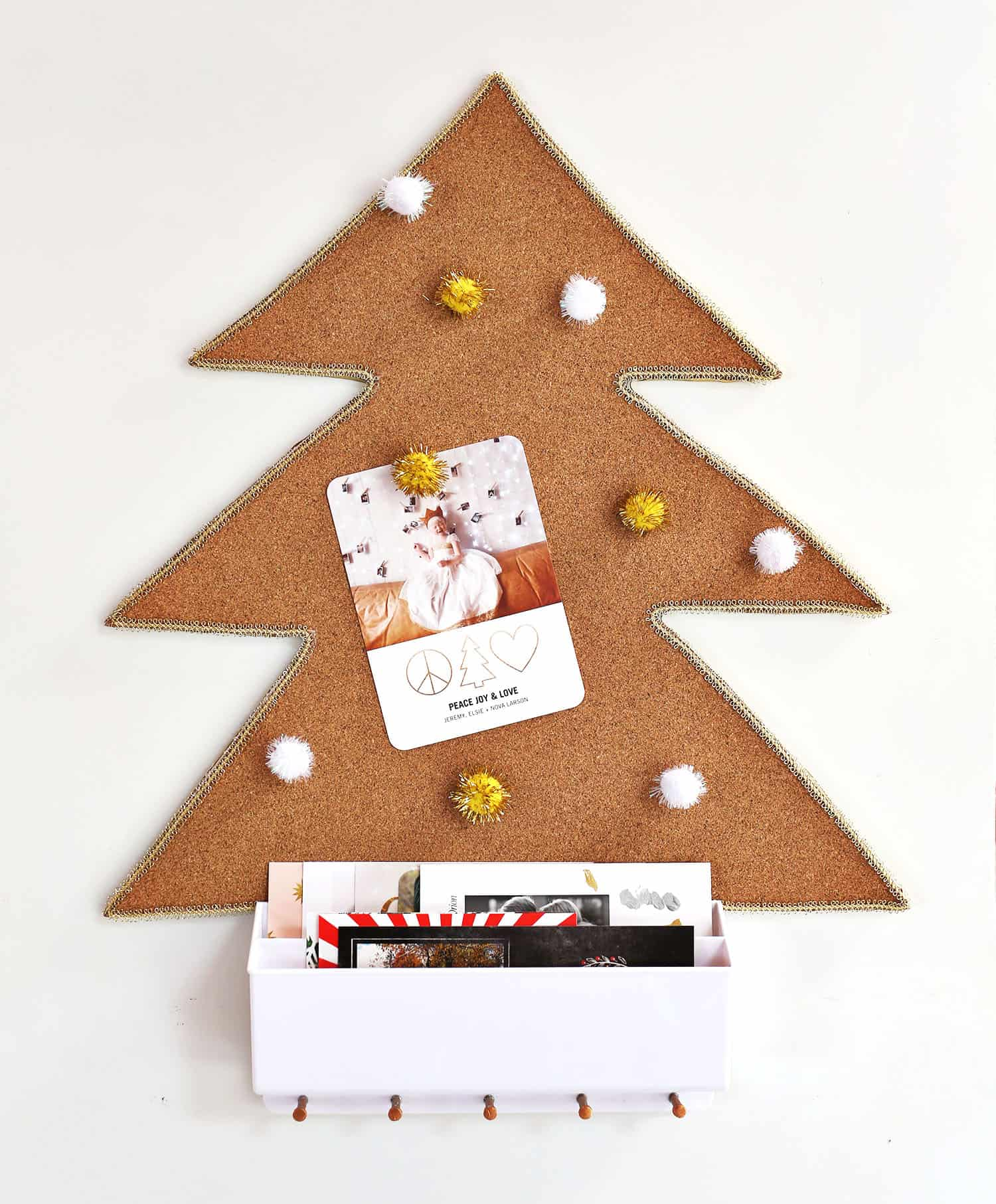 16 Wall Christmas Tree Ideas Apartment Therapy