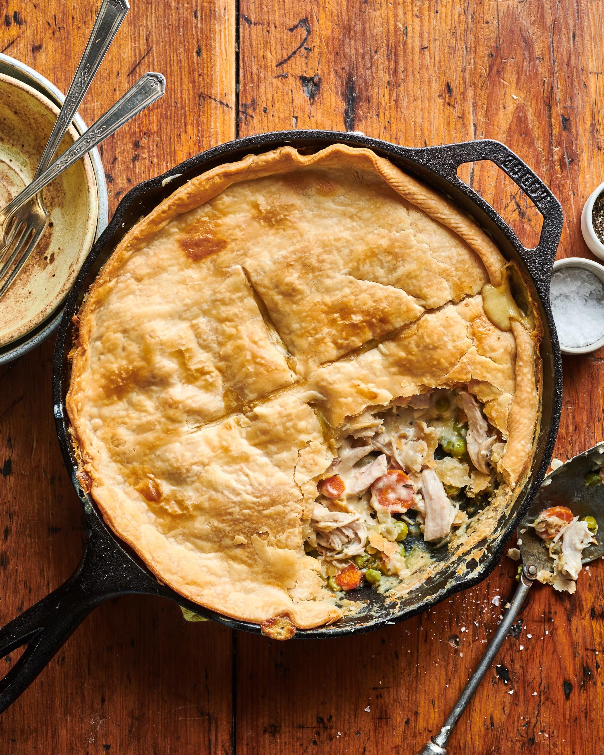 How To Make Leftover Thanksgiving Turkey Pot Pie Kitchn