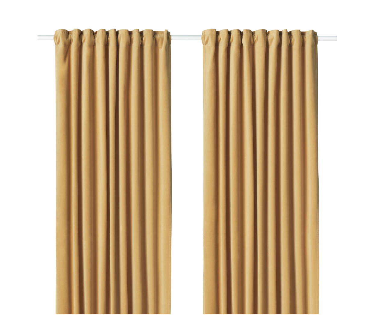 Here S How To Make Ikea Curtains As A Room Divider Actually Look Chic Apartment Therapy