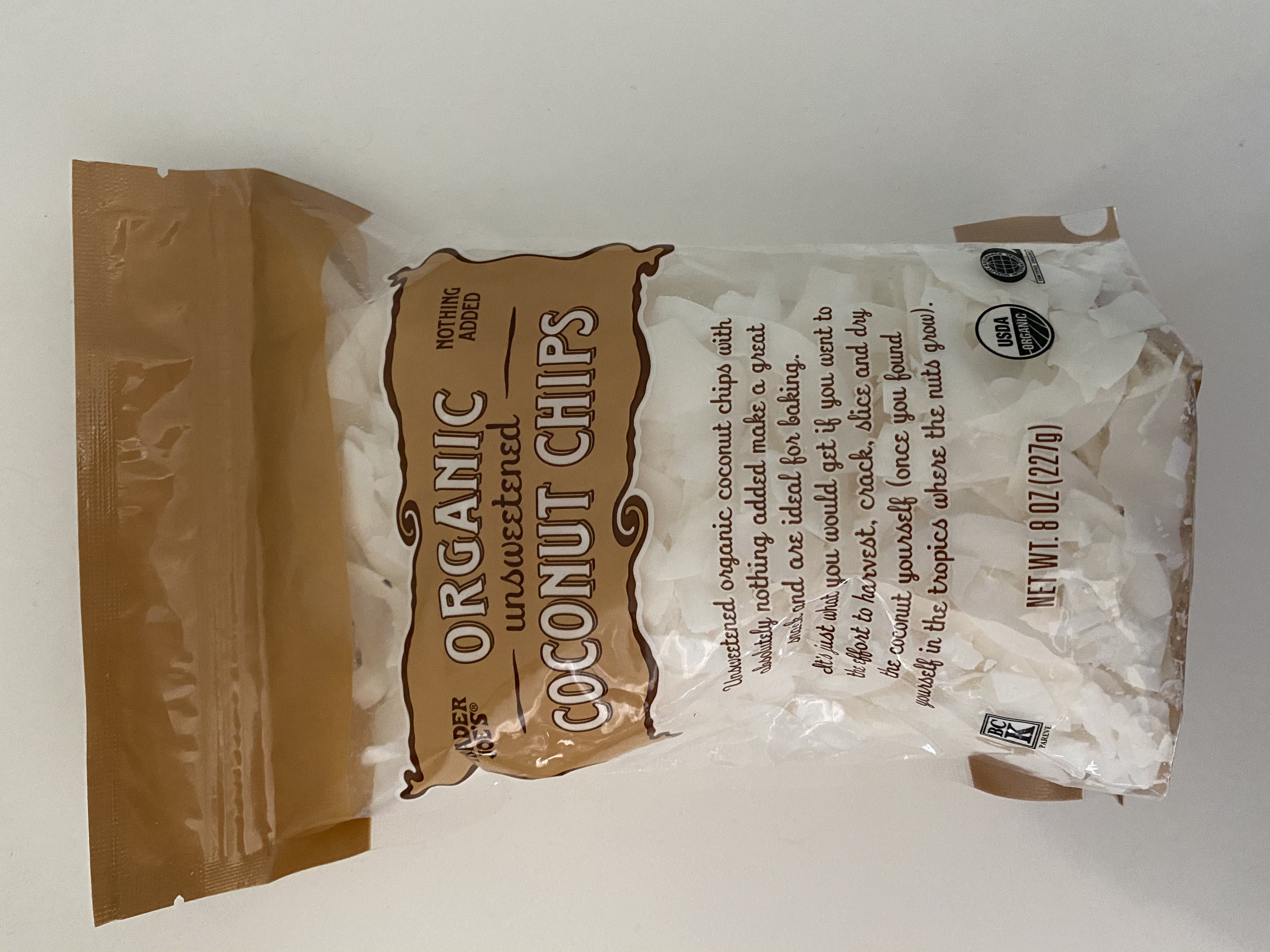 Trader Joe S Unsweetened Coconut Chips Review Kitchn
