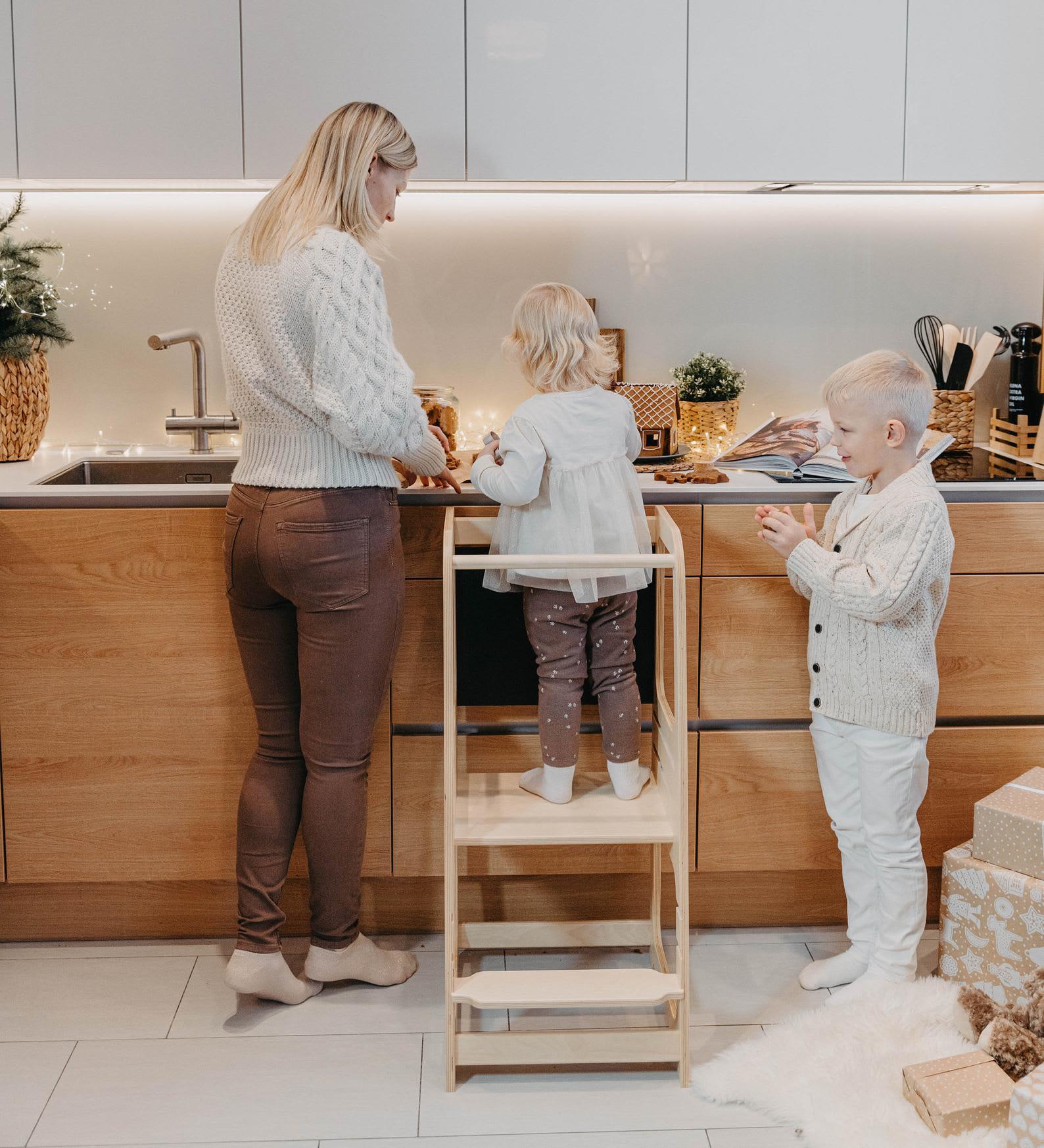 The 10 Best Kitchen Helper Stools For 2021 Safe Fun Kids Step Stools Kitchn